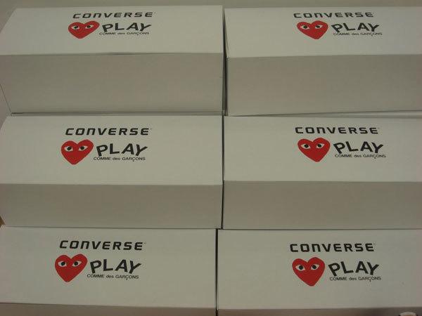 Converse colabora con Comme des Garçons en sus nuevas zapatillas