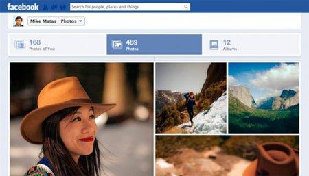 Facebook actualiza la sección Fotos del Timeline, ahora mucho más visual