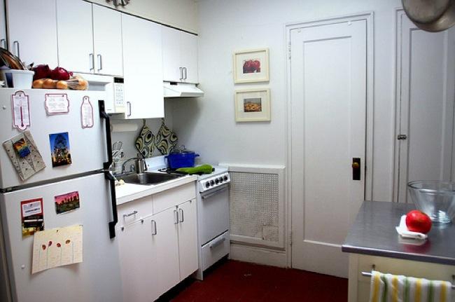 Diez consejos para aprovechar el espacio en cocinas peque as - Aprovechar cocinas pequenas ...