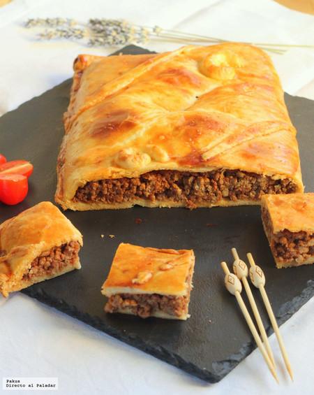 La empanada de carne más fácil del mundo. Receta con solo tres ingredientes