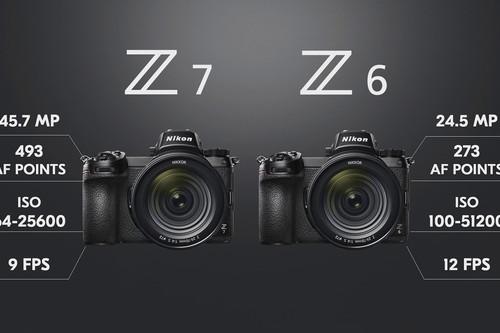 Nikon Z6 y Z7, toda la información sobre las esperadísimas cámaras sin espejo con sensor full frame de la firma nipona