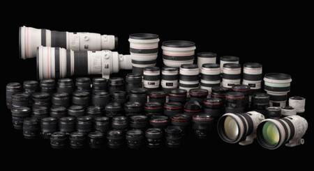 """Estos son los objetivos que Sony, Canon, Ricoh y Panasonic parecen tener """"en el horno"""""""