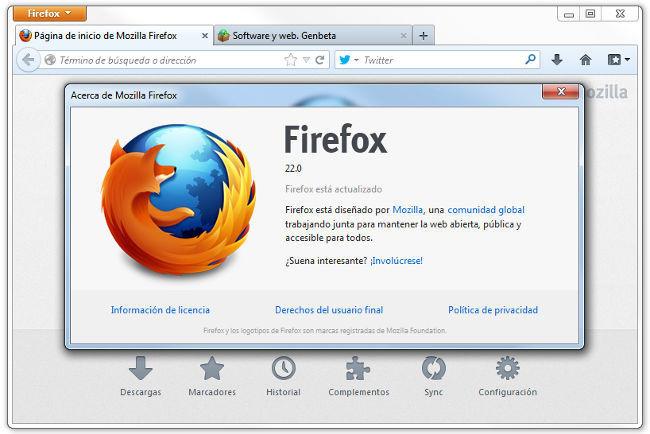 Firefox 22