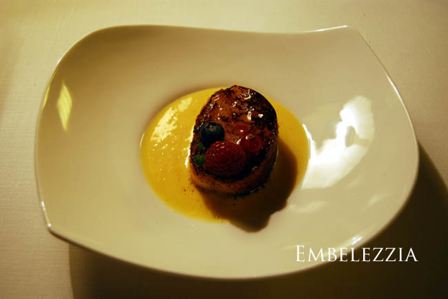 Foto de Ibaia, restaurante hotel de lujo en Gordexola (Vizcaya): menú degustación (1/19)