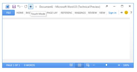 Publicadas muchas de las nuevas características que traerá Office 15