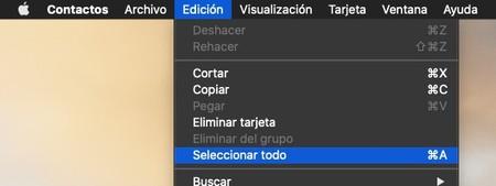 Exportar Contactos Mac 1