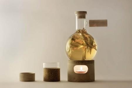 Original set para preparar té por Agustina Bottoni