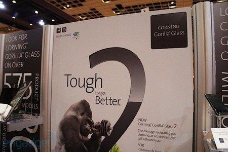 Presentan Gorilla Glass 2 en el CES 2012