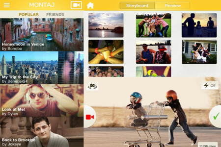 Editores de vídeo en iOS - montaj