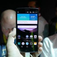 LG G Flex 2, toma de contacto