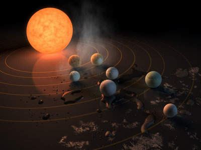 Siete nuevos planetas del tamaño de la Tierra son candidatos a tener vida... más allá de nuestro Sistema Solar