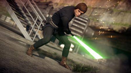 Star Wars Battlefront Ii Luke Skywalker