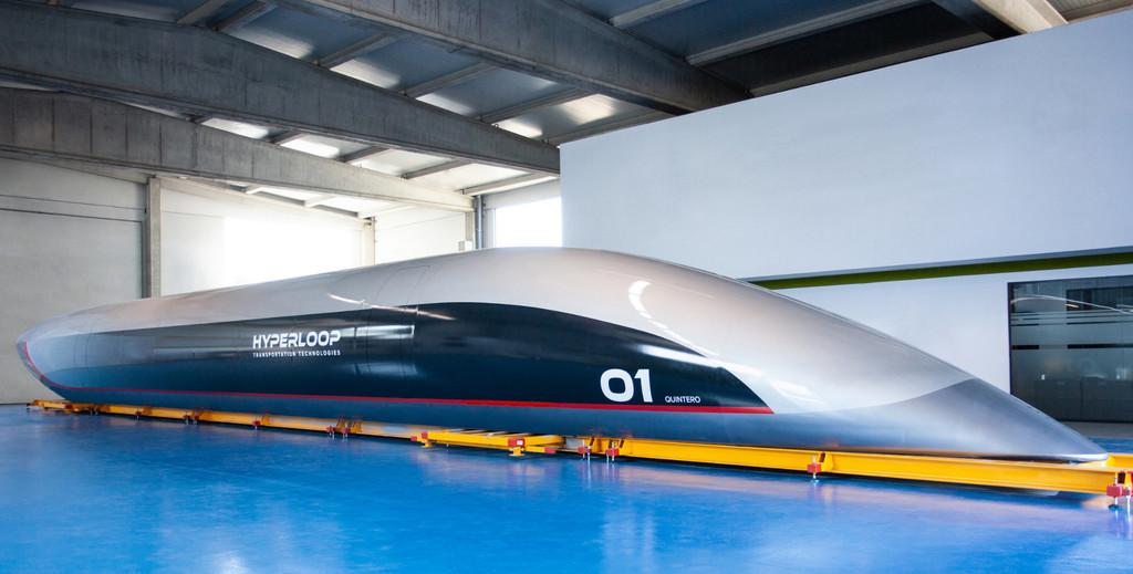 Quintero One, así es la primera cápsula Hyperloop hecha en España y lista para las pruebas
