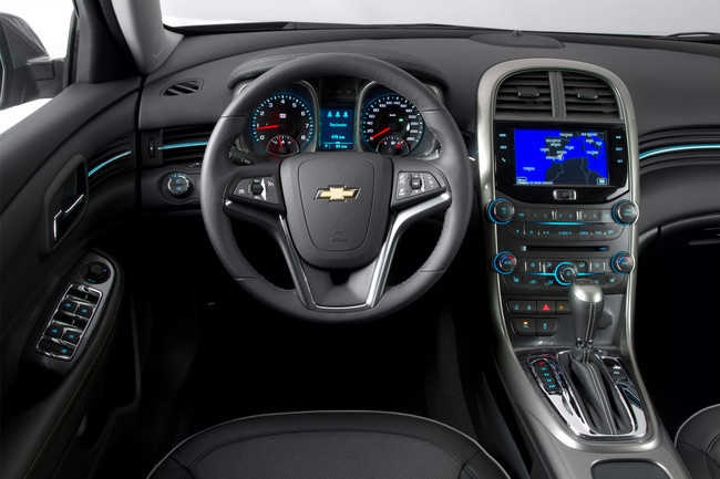 Chevrolet Malibu, vista interior