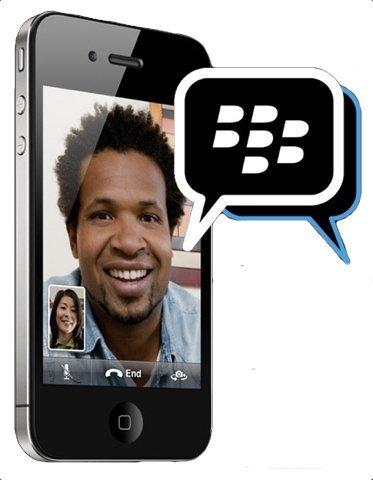 BlackBerry Messenger no llegará a iPhone el 26 de abril