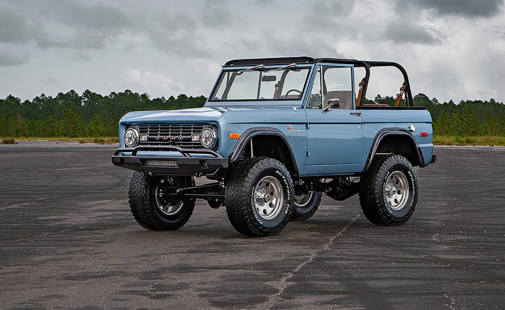 Este espectacular Ford Bronco
