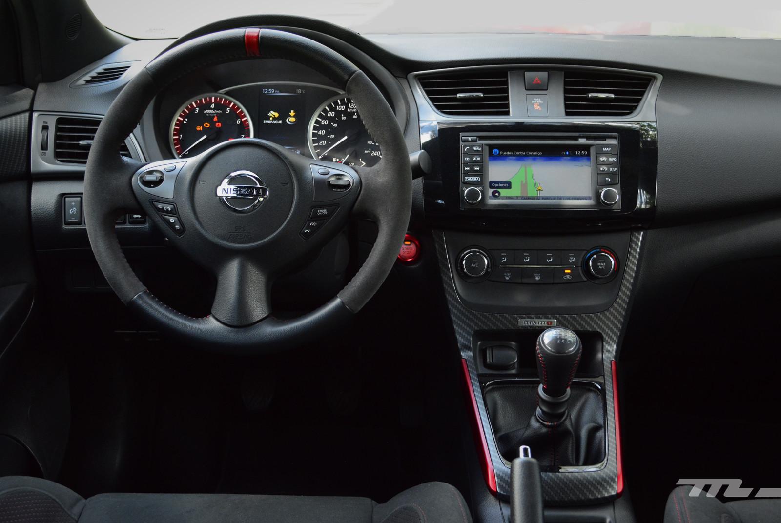 Foto de Nissan Sentra Nismo (prueba) (7/17)