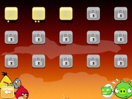 angry birds niveles