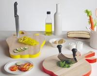 Las tablas de cortar más divertidas y coloristas para tu cocina