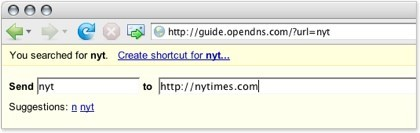 OpenDNS, el DNS configurable