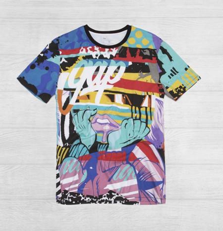 Conviértete en embajador del Street Art con las camisetas de la colección Remix Project de Gap