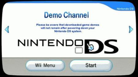 Descarga de juegos para Nintendo DS en la Wii