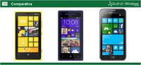 Comparativa Windows Phone 8: Nokia Lumia 920 vs HTC 8X vs Samsung ATIV S