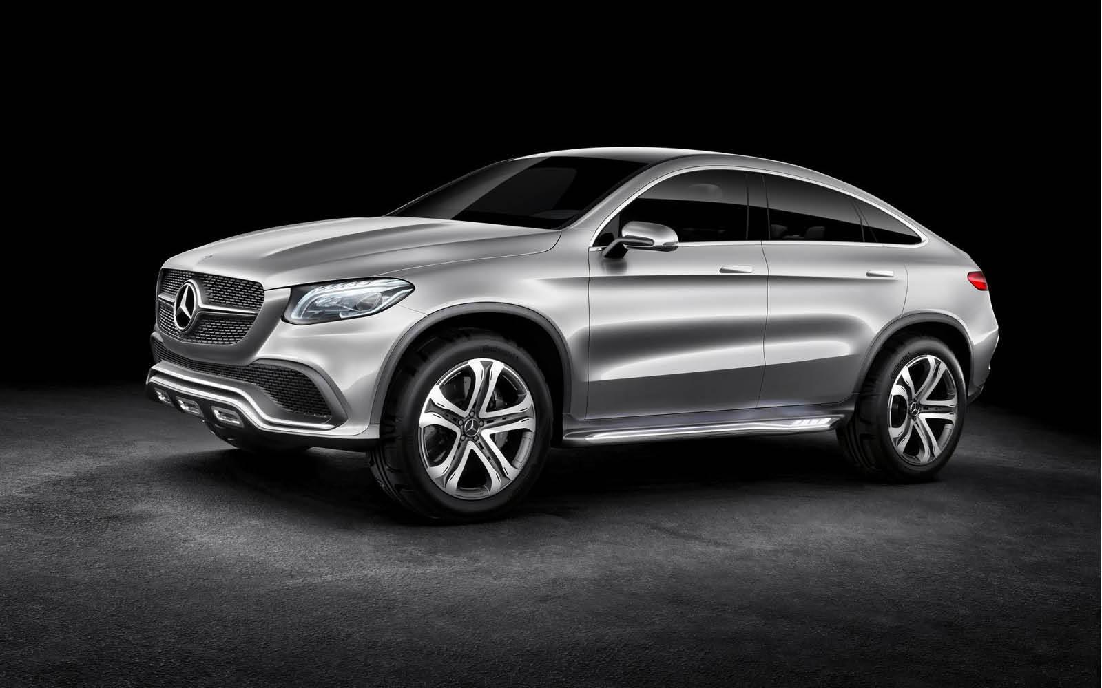 Foto de Mercedes-Benz Coupé SUV Concept (18/30)