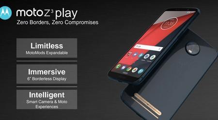 Moto Z3 Play Render Filtrado