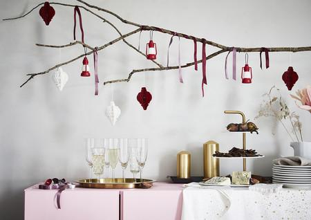 Adornos de Navidad diferentes Ikea