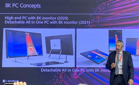La resolución 8K llega a los ordenadores: Toshiba Dynabook prepara dos PC de sobremesa que apostarán por un panel 8K