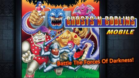 El mítico Ghosts'N Goblins regresa a la vida con una versión para dispositivos móviles