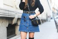 La minifalda vaquera, la protagonista de muchos looks para esta Primavera 2015