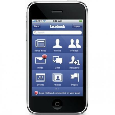 Facebook 3.0 para el iPhone casi a punto