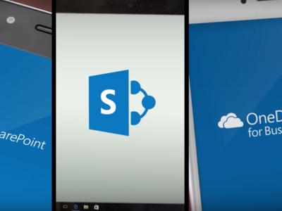 La aplicación colaborativa SharePoint a punto de llegar a Windows 10 Mobile