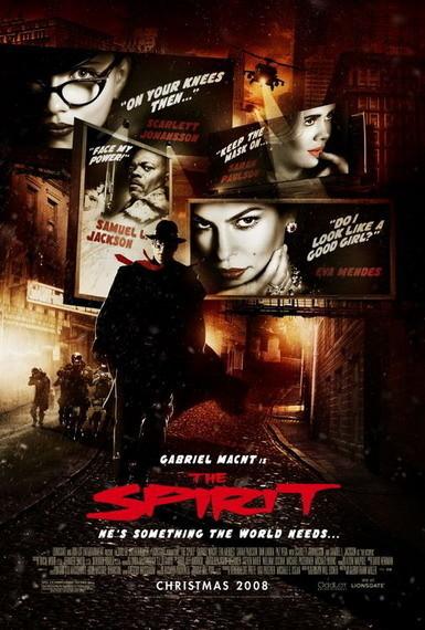 'The Spirit', ¿póster final?