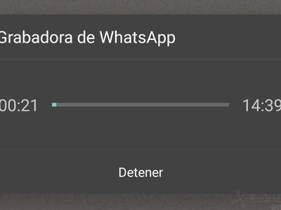 Cómo grabar un mensaje de audio en WhatsApp sin tener que mantener pulsado el micrófono