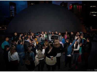 Planetario nocturno, un evento en el que la ciencia y el arte se unen en torno al cosmos