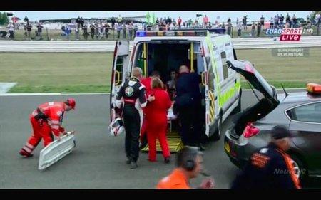 Ambulancia en Silverstone