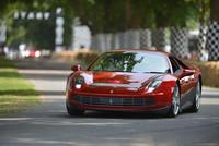 El Ferrari one-off de Eric Clapton sube la montaña de Goodwood