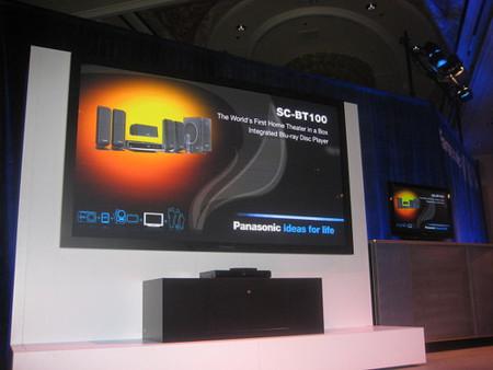 Reproductor Blu-Ray BD50 y SC-BT100 de Panasonic [CES 2008]