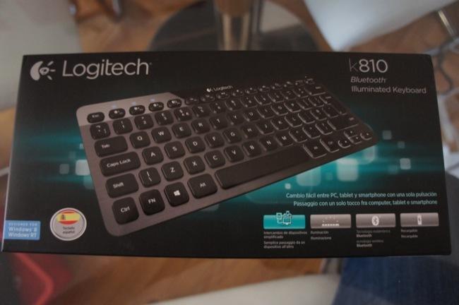 Logitech K810, un teclado inalámbrico e iluminado