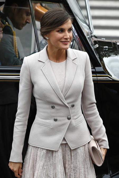 Reina Letizia Desfile De La Hispanidad 2