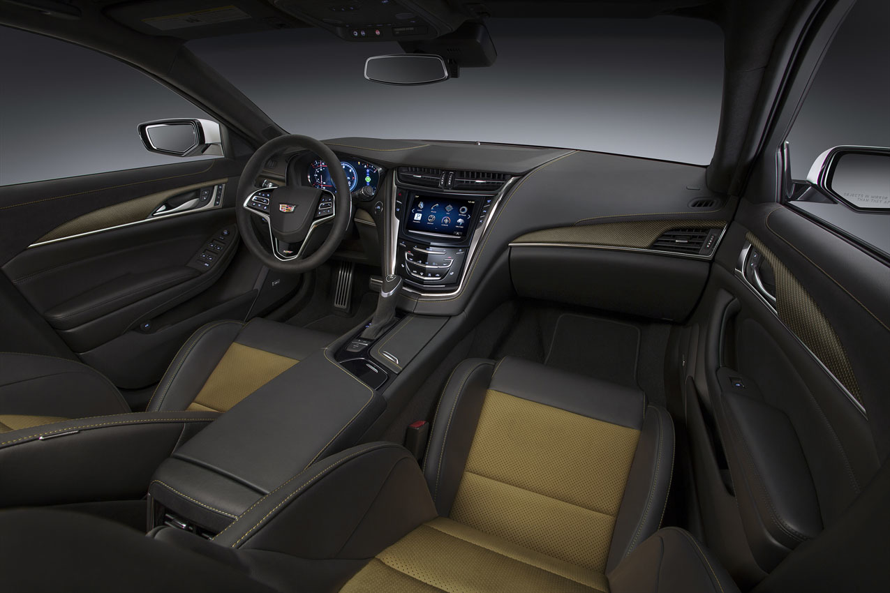 Foto de 2016 Cadillac CTS-V (13/16)