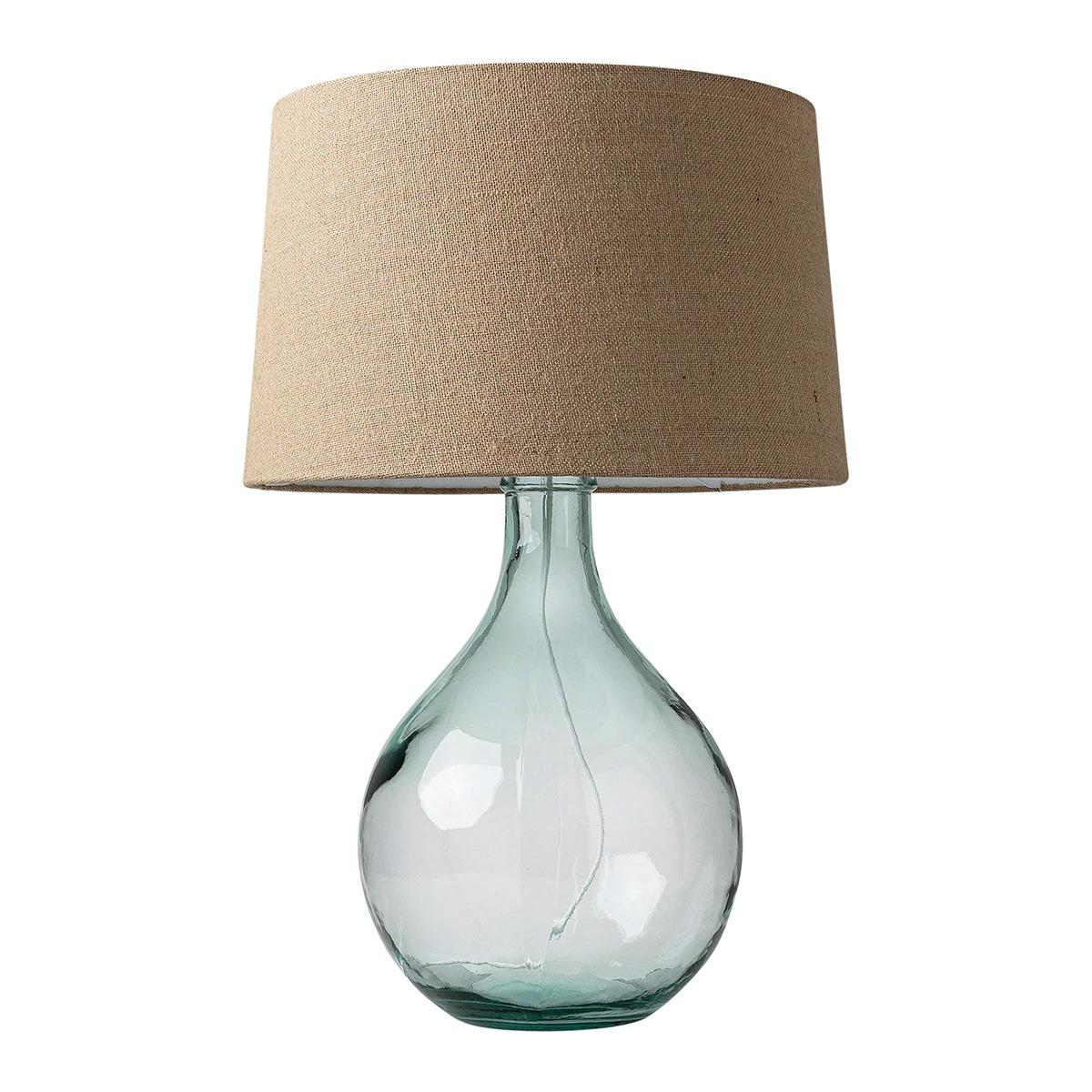 Lámpara de mesa de vidrio reciclado Lagoon El Corte Inglés