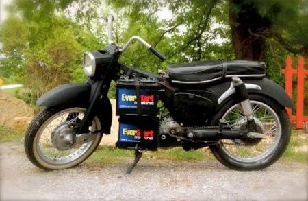 Cómo fabricar tu propia moto eléctrica