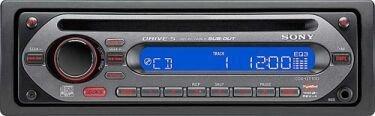 Sony CDX, radio para coche con entrada de línea