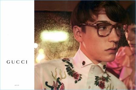 Los diseños de lentes de Gucci para SS2017 son un imán para las miradas