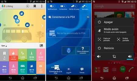 Xperia Z3 Software 02