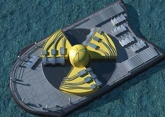 Planta de energía nuclear flotante